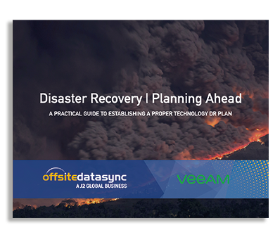 DISASTER RECOVERY | PLANNING AHEAD