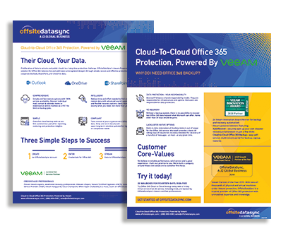CLOUD BACKUP FOR OFFICE 365