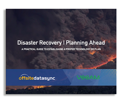 DISASTER RECOVERY   PLANNING AHEAD